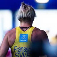 Jenny Fransson har testats positivt för dopning. Nästa vecka kommer resultatet från b-provet.