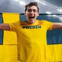 Armand Duplantis tävlande för Sverige.