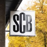 SCB-skylt