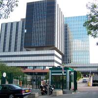 Sjukhuset Hôptial Bichat i Paris samt Frankrikes hälsominister Agnès Buzyn