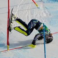 Anna Swenn-Larsson körde ur i solklar ledning