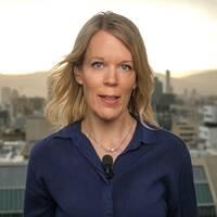 SVT:s Mellanöstern-korrespondent Stina Blomgren
