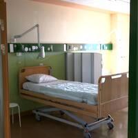 sjukhussal, sjukhus, vårdsal, sjukhusbädd