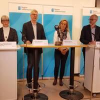 Klockan 13:00 börjar sändningen från Region Västernorrlands presskonferens.