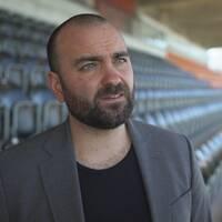 Andreas Dayan, klubbchef för VSK-fotboll.
