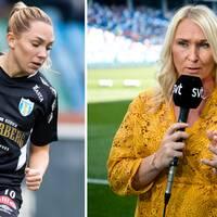 Elin Rubensson är ett av två tunga tapp för Göteborg, som Frida Östberg tror blir kännbart.