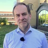 Martin Engström, hälso-och sjukvårdsdirektör på Region Halland.