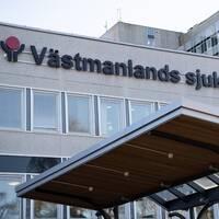 Bild på Åke Tenerz och Västmanlands sjukhus.
