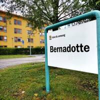 Äldreboendet Bernadotte i Valsätra.