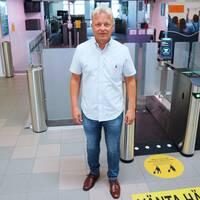 Arri Kallonen, flygstationschef på Ronneby Airport