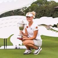 Julia Engström puttade hem segern i Frankrike