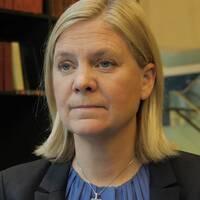Lagerföretag och finansminister Magdalena Andersson.
