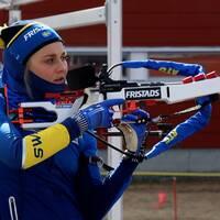 I mars kom nyheten att Stina Nilsson byter sport.