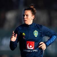 Jessica Samuelsson missar EM-kvalmötet med Slovakien.