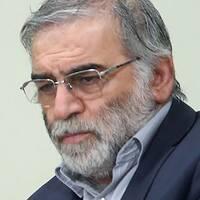 MohsenFakhrizadeh pekas ut som den ledande forskaren bakom Irans kärnenergiprogram.