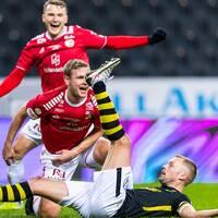 Kalmar FF vann mot AIK – och skickar Helsingborg ut från allsvenskan