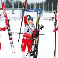 Norge tog en trippel i Lahtis.