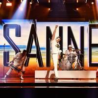 Enligt Aftonbladet är det Smith & Thell (t.h) som skrivit Sannex partylåt i Melodifestivalen. Men bandet själva förnekar bestämt att de skulle veta om det är sant eller inte.