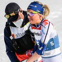 Frida Karlsson i smärtor spurtade till sig bronset.