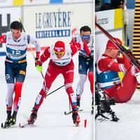 Kläbo vann VM-guld på femmiljen och tröstade Bolsjunov efter dramat på upploppet.