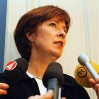 Mona Sahlin och M/S Estonia.