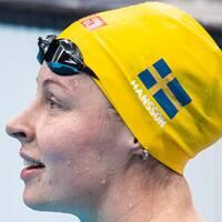 Sophie Hansson är klar för OS-final på 100 meter bröstsim.
