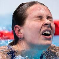 Sophie Hansson var känslosam efter OS-finalen på 100 meter bröstsim.