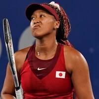 Naomi Osaka är utslagen ur hemma-OS-turneringen.