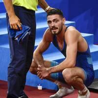 Alex Kessidis föll mot Rafig Huseynov.