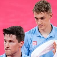 Kristian Karlsson och Antons Källberg bordtennislag är utslaget ur OS.