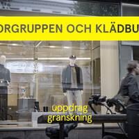 Terrorgruppen och klädbutiken.