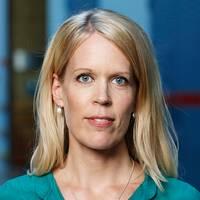 Stina Blomgren, migrationskorrespondent för SVT Nyheter