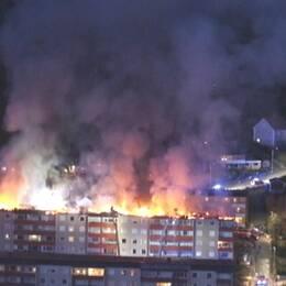 Storbranden i Huskvarna 1 maj.