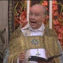 Johan Dalman överhovpredikant