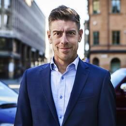 Kalle Sandhammar blir ny publisher på Upsala Nya Tidning.