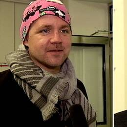 Fredrick Federley och Annie Lööf. Foto: SVT