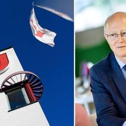 Johan Schnürer, rektor på Örebro Universitet