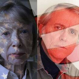Joan Didion, Don Delillo, Joyce Carol Oates och Philip Roth.
