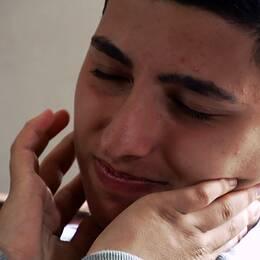Markus Amso, brorson till Nazir Amso som mördades i skolattacken i Trollhättan