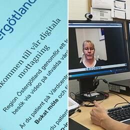 onlinevård video vårdcentralen boxholm app digital mottagning region östergötland