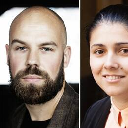 Daniel Suhonen, Enna Gerin, Sofie Granberg.