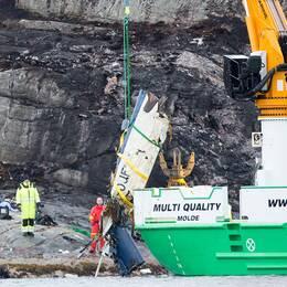 Samtliga 13 ombord omkom i en helikopterolycka i närheten av Bergen, Norge, i april i år.