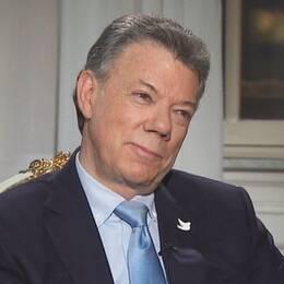 Colombias president Juan Manuel Santos