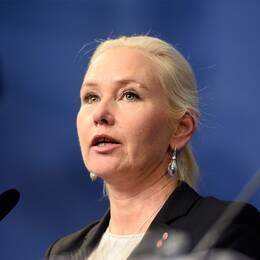 Anna Johansson (S) Infrastrukturminister
