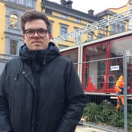 Robert Frisk, projektledare för Musikhjälpen SR