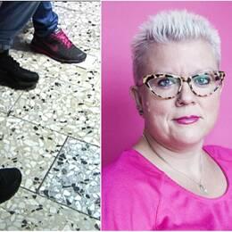 Suzann Larsdotter menar att samhället blundar för manlig prostitution.