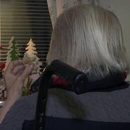 Istället för en jultallrik fick Siri Martinsson på Östergården i Trelleborg en smörgås.