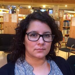Cecilia Nilsson och kollegorna på stadsbiblioteket har tröttnat på att vara ordningsvakter.