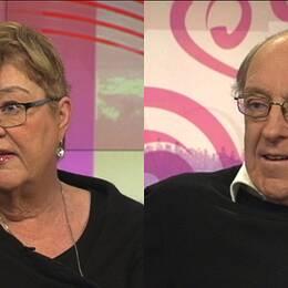 Lena Mellin och K-G Bergström