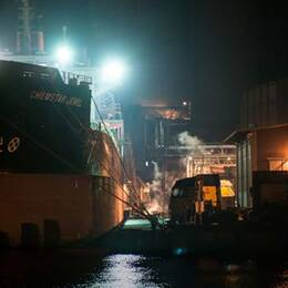 Karlshamn säger ja till rysk gasledning